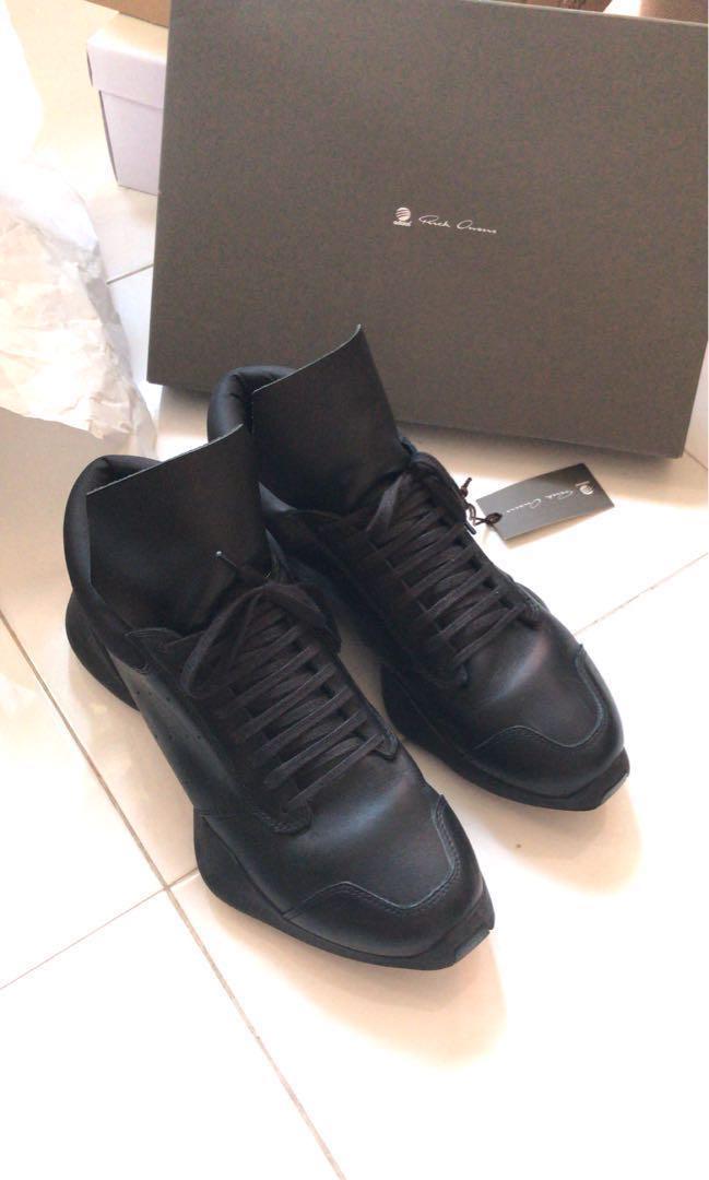 buy online 608ad 78232 Rick Owens x Adidas vicious shoes tech runner, Men's Fashion ...