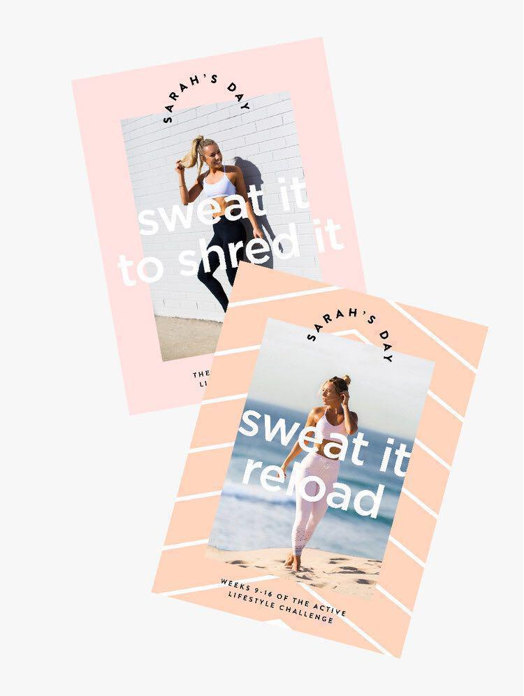 Sarah's Day Sweat it to shred it + Sweat it reload (BUNDLE), Sports