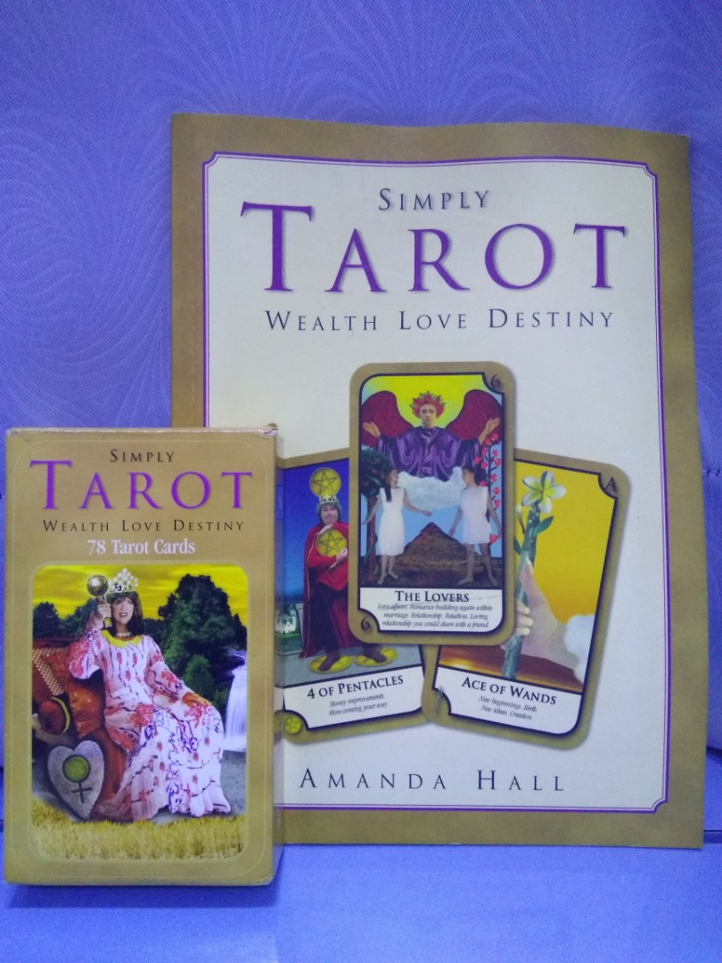 Simply Tarot Deck (with CDrom and Textbook)