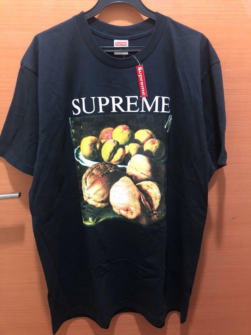 Supreme Tee Fw18 Dark Navy Still Life T Shirt Size Large Men S Fashion Clothes Tops On Carou