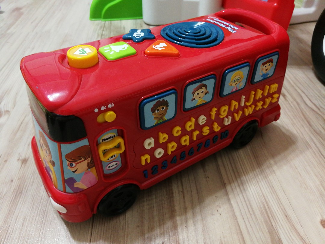 Teach child how to read: Vtech Playtime Bus With Phonics ...