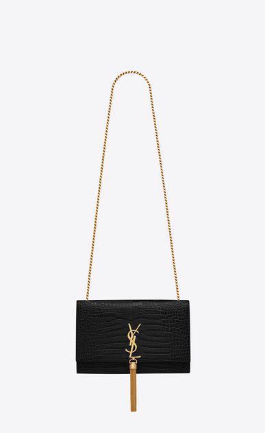 YSL - Chain Shoulder Bag with Fringe a835f8d634358