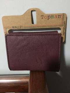 Topman Burgundy wallet