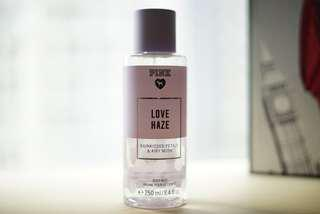Fragrance mist Victoria secret pink edition LOVE HAZE