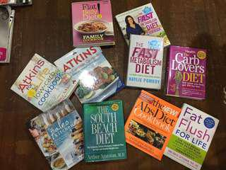 Health and fitness books sold per piece