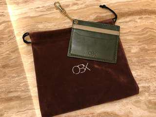 OBX Cardholder (Navy Green 墨綠色)