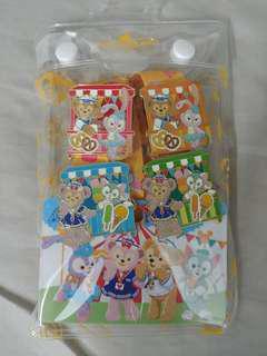 香港迪士尼徽章 pin trading duffy shelliemay gelatoni stellalou