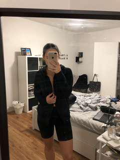 Aritzia - TNA black hoodie
