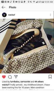Adidas Superstar 35th Anniversary NBHD Neighborhood Consortium