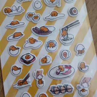 🚚 Gudetama stickers