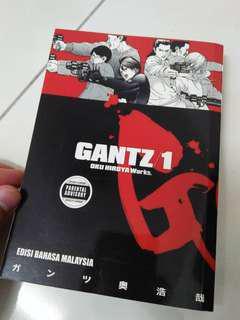 GANTZ vol 1 edisi bahasa melayu