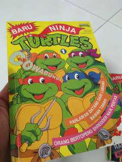 Ninja Turtle vol 1. versi bm