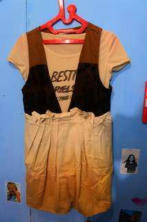 Dress + atasan