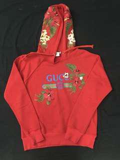 Gucci flowers hoodie