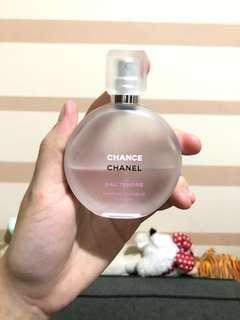 Chanel eau tendre parfum hair mist