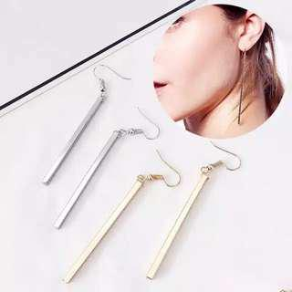 Simple Earrings Long Bar