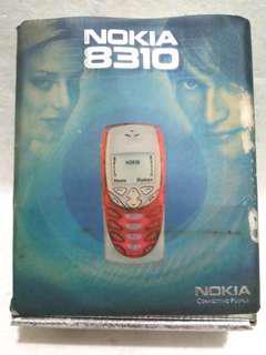 Vintage Nokia 8310 Box