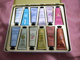 Crabtree and evelyn 12 hand cream set