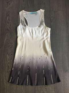 Marciano by guess silk dress size medium