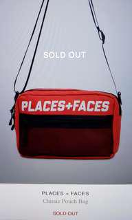 Places + Faces classic sling bag (Red)