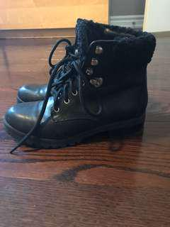 Aldo combat boots size 8