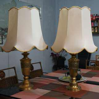 Antique Solid Brass Lamp Shade