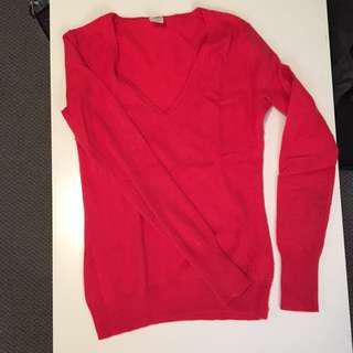 REDUCED | J Crew Italian cashmere V-neck Sweater
