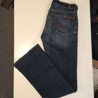 REDUCED | Classic Seven For All Mankind jeans 26