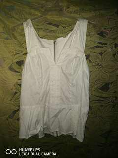Guess white Top