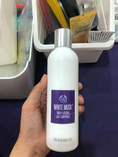 The Body Shop Lotion White Musk