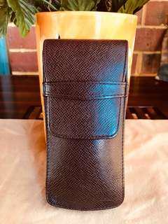Authentic Vintage Louis Vuitton Smartphones Case Pen Case Taiga