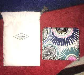 Fossil mini wallet leather