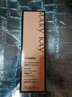 Authentic Mary Kay timewise microdermabrasion step 2: replenish