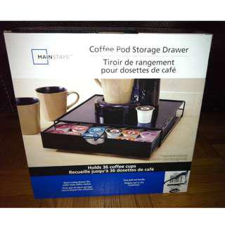 Mainstays 36-Pod Coffee Storage Drawer - NEW IN BOX ( I HAVE 4) @ $10 EACH
