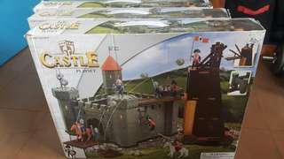Toy Castle Playset