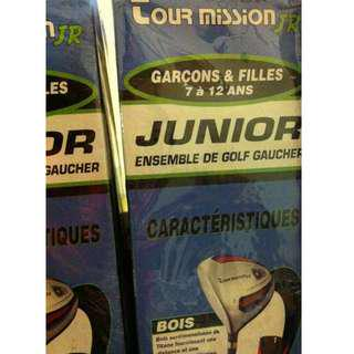 TOUR MISSION JR. - LEFT HAND GOLF SET - BOYS & GIRLS - NEW IN BOX