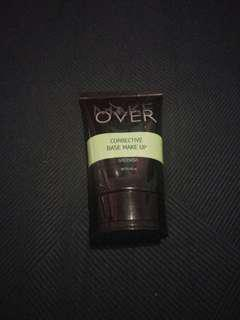 Makeover corrective base makeup greenish