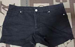 Jessica Simpson Black Shorts (32)