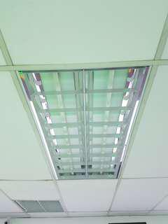 3 x sets of Office ceiling lights