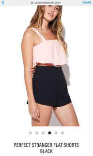 Perfect Stranger Flat Short Black