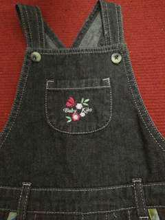 Pre 💓 Baby Kiko Overall Dress