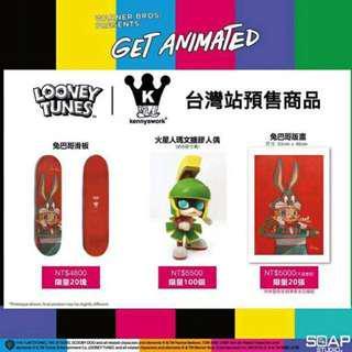 Kennyswork 2018 台北站 限量商品 火星人 玩偶