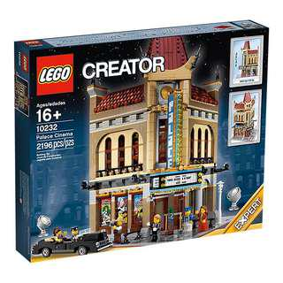 Lego 10232 Palace Cinema New