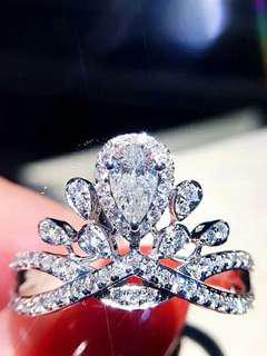 Chaumet同款鑽石戒指