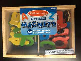 Melissa and Doug Alphabet magnet
