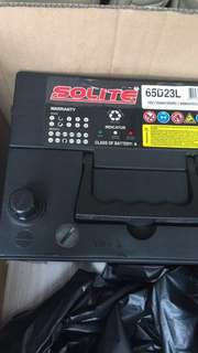 Car Battery dated Sep 2016 for sale.  汽車電池出售,因車已劏
