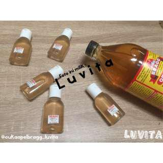 BRAGG Apple Cider Vinegar TONER Sudah di CAMPUR 30ml