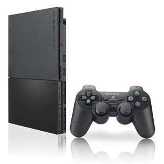 Sony Playstation 2 Slim Black