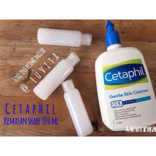 Cetaphil Gentle Skin Cleanser SHARE in Bottle 100 ml