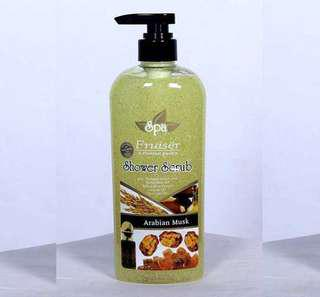 Fruiser Spa Shower Scrub (Arabian Musk) 730mL